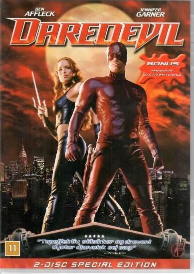 Daredevil -2 DVD ( v původním znění )