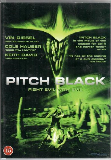 Pitch Black ( Černočerná tma ) - DVD