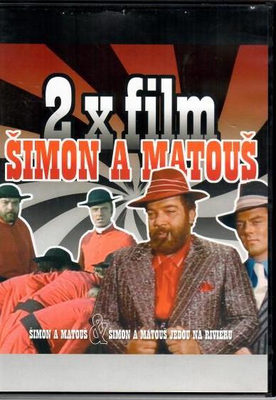 Šimon a Matouš/ Šimon a Matouš jedou na riviéru - 2 DVD