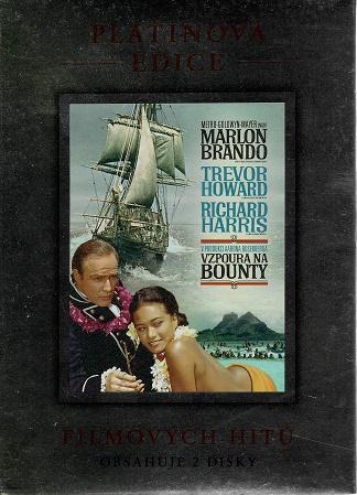 Vzpoura na Bounty - 2DVD ( originální znění, titulky CZ ) plast DVD