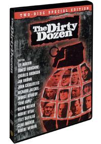 Tucet špinavců ( The Dirty Dozen ) -2 DVD - ( v původním znění s CZ titulky)