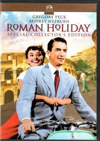 Roman Holiday ( Prázdniny v Římě )  - DVD ( v původním znění s CZ titulky)