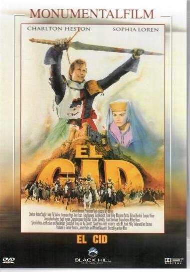 EL CID (CID) - DVD ( v původním znění )