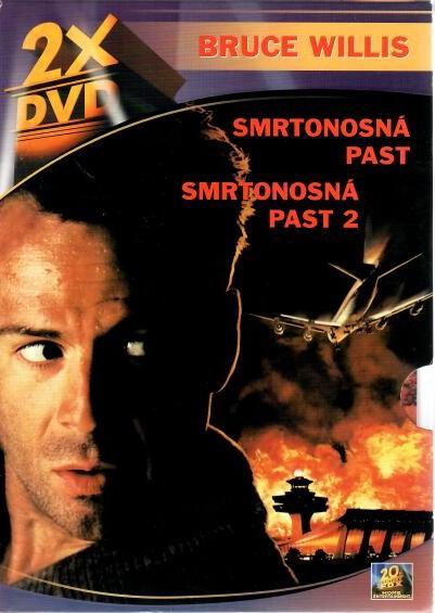 Smrtonostná past 1+2 - 2 DVD (bazarové zboží )
