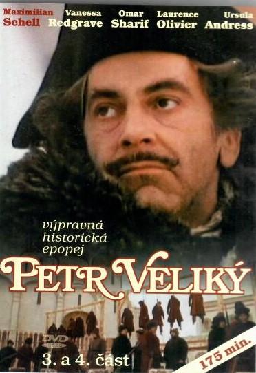 Petr Veliký 3. a 4. část - DVD ( originální znění s CZ titulky )