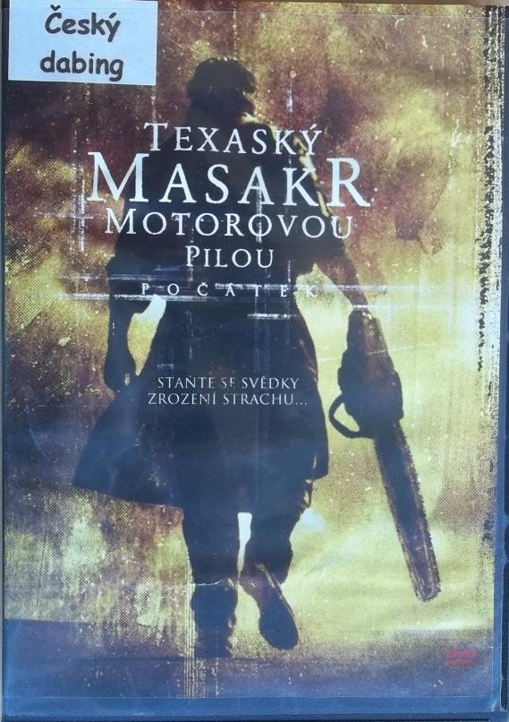 Texaský masakr motorovou pilou: Počátek ( plast ) DVD