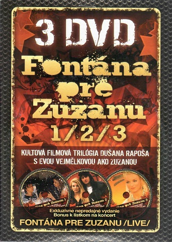 Fontána pre Zuzanu 1/2/3  -DVD