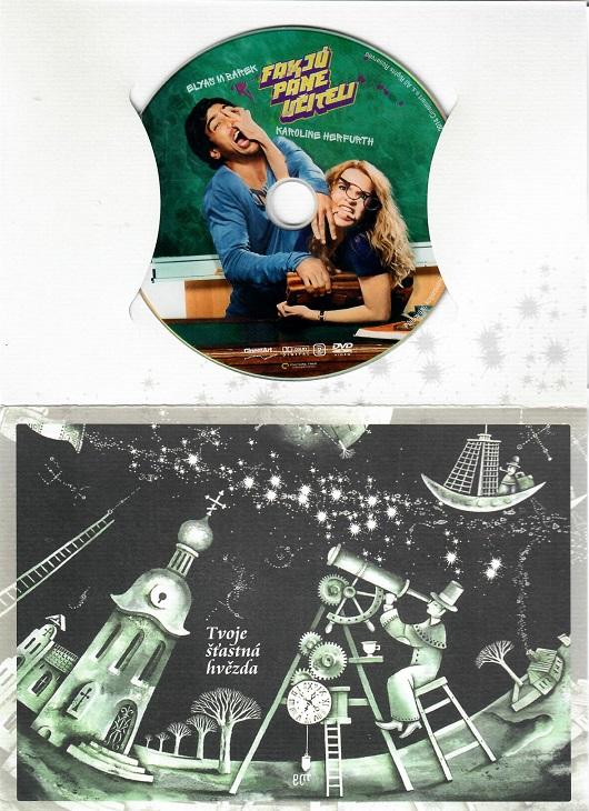 Fakjů pane učiteli ( dárkový papír obal ) - DVD