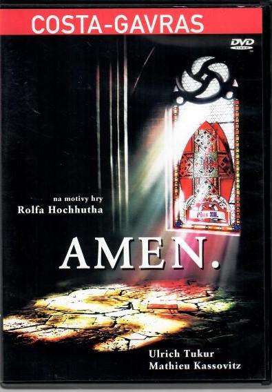 Amen. - DVD ( v původním znění s CZ titulky)