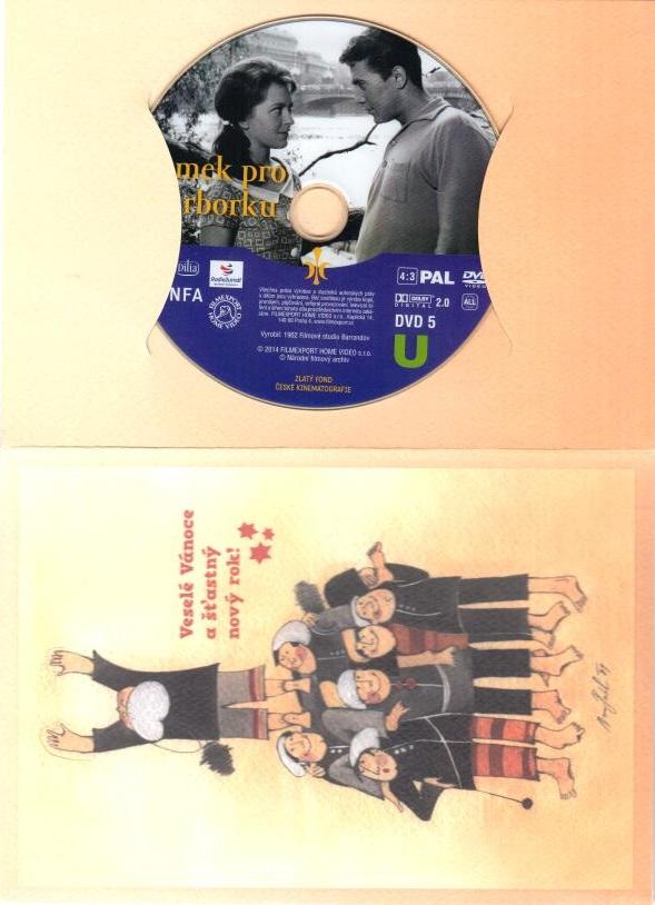 Zámek pro Barborku - DVD ( dárková obálka )