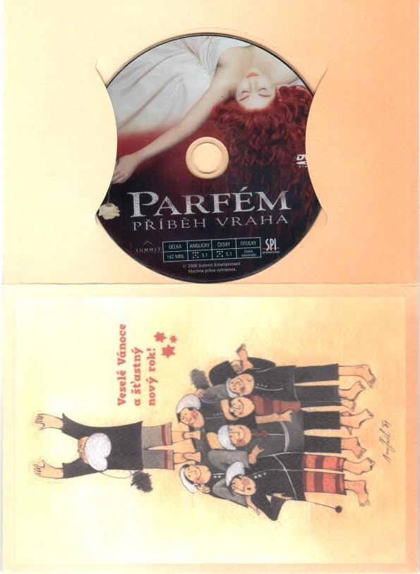 Parfém: Příběh vraha - DVD ( dárková obálka )