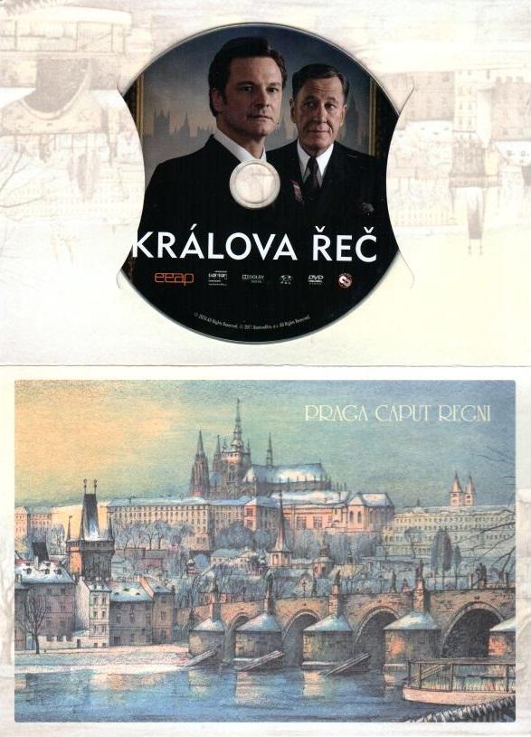 Králova řeč - DVD ( dárková obálka )