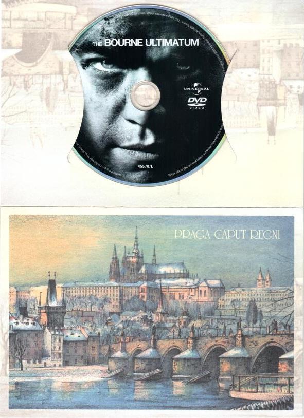 Bourneovo ultimátum - DVD ( dárková obálka )