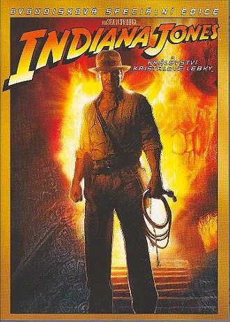 Indiana Jones a království křišťálové lebky 2DVD(bazarové zboží)
