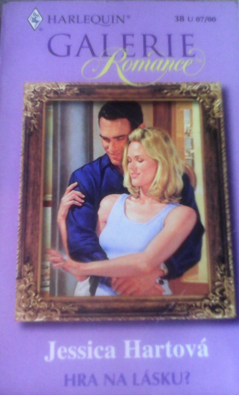 Harlequin: Hra na lásku - Jessica Hartová (bazarové zboží)
