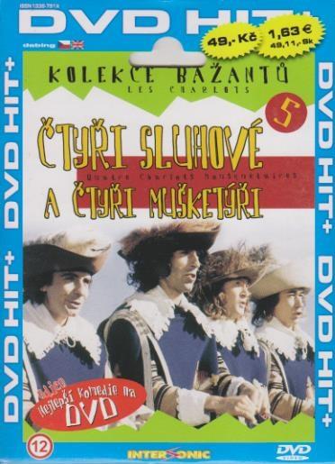 Bažanti 05 - Čtyři sluhové a čtyři mušketýři - DVD