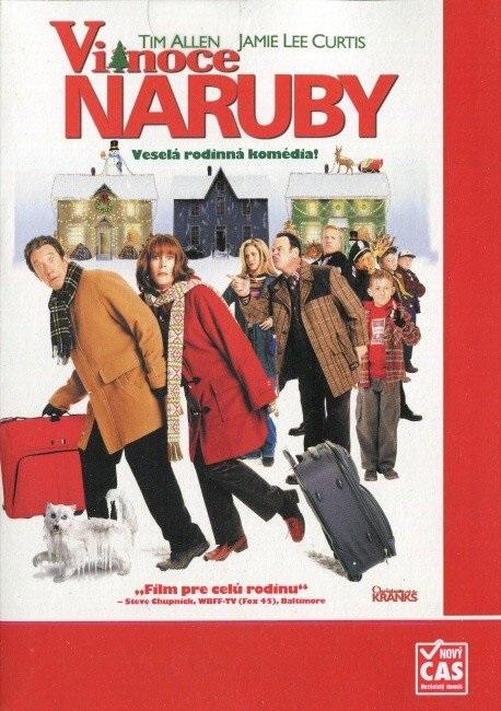 Vánoce naruby ( pošetka ) - DVD