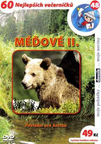 60 večerníčků - 48 - Méďové II - DVD