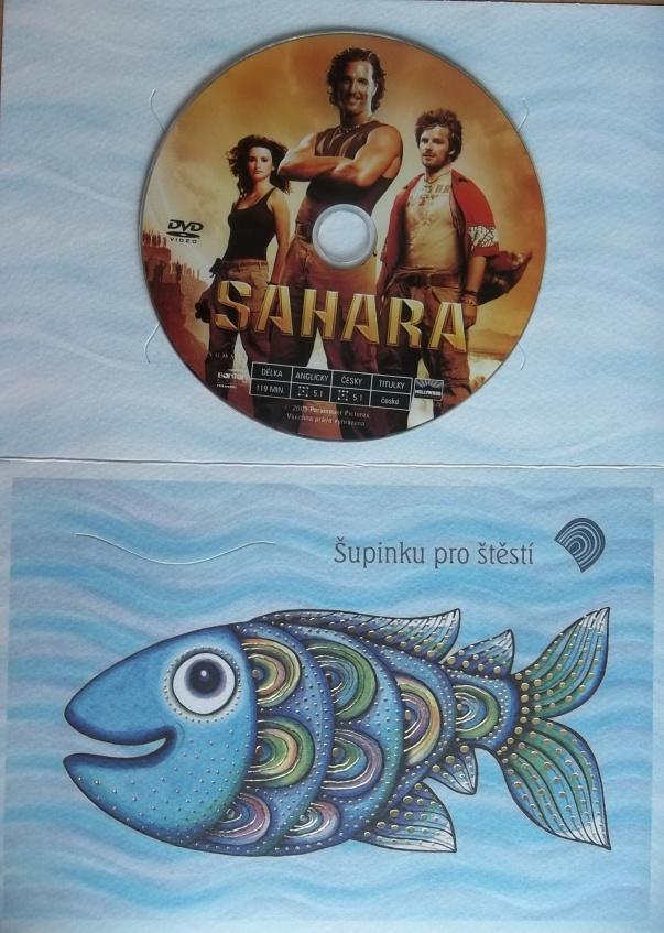Sahara (dárková obálka) - DVD