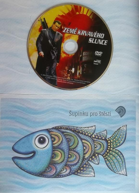 Země krvavého slunce (dárková obálka) - DVD