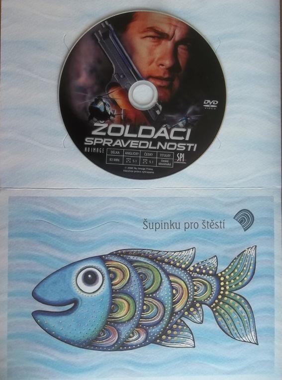 Žoldáci spravedlnosti (dárková obálka) - DVD