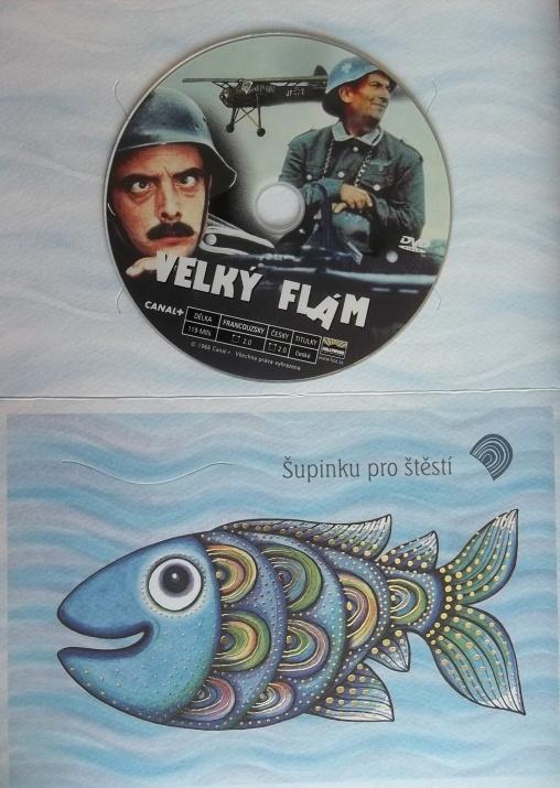 Velký flám (dárková obálka) - DVD
