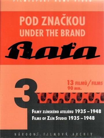 Pod značkou Baťa 3 - digipack DVD