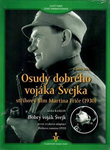 Osudy dobrého vojáka Švejka + Dobrý voják Švejk - digipack DVD