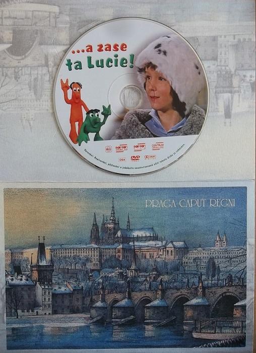 ...a zase ta Lucie! ( dárkový papír obal ) - DVD