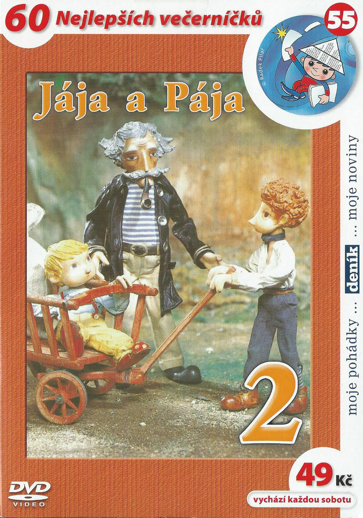 60 večerníčků - 55 - Jája a Pája 2 - DVD