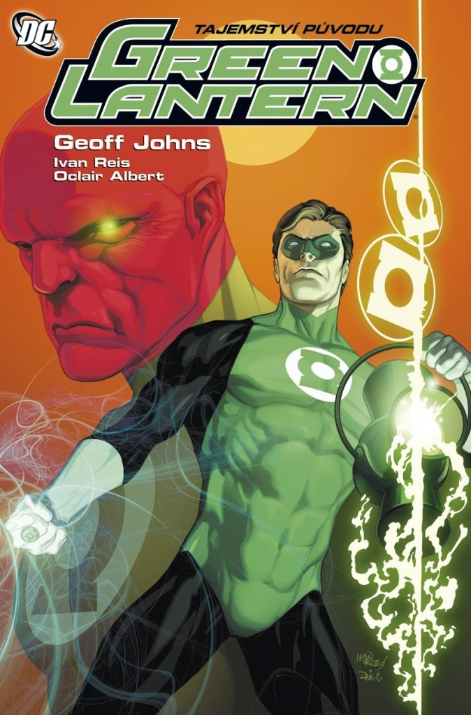 DC Green Lantern: tajemství původu - G.Johns, I. Reis, O.Albert
