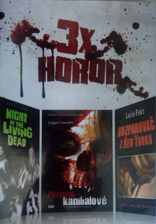3x horor: Night of the Living Dead, Poslední kanibalové,  Rozparovač v New Yorku
