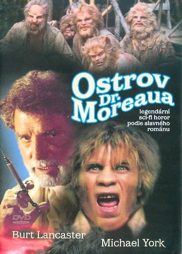 Ostrov Dr.Moreaua DVD