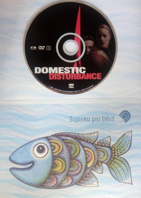 Domestic Disturbance (Malý svědek) (Dárková obálka)