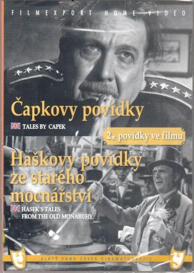 Čapkovy povídky/Haškovy povídky ze starého mocnářství - DVD box