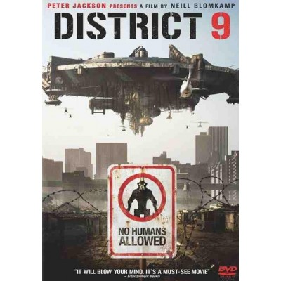 District 9 digipack DVD
