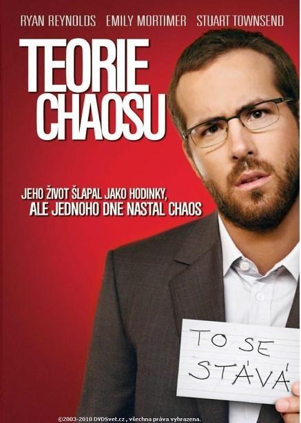 Teorie chaosu DVD digipack