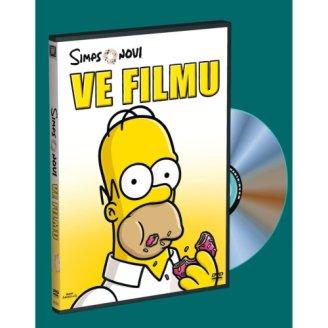 Simpsonovi ve filmu DVD