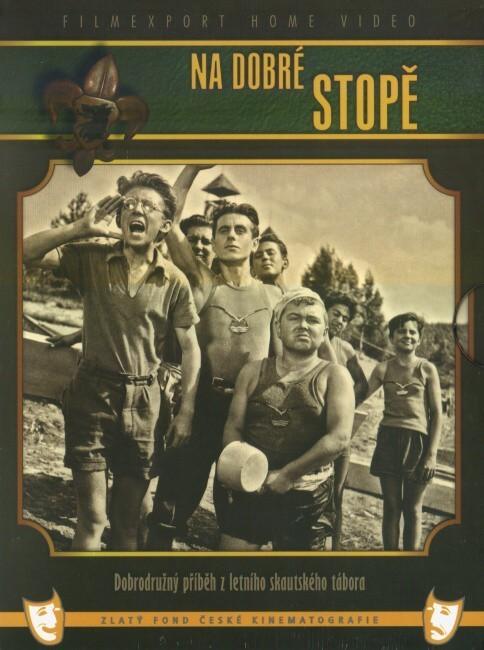Na dobré stopě 2x DVD - digipack v šubru