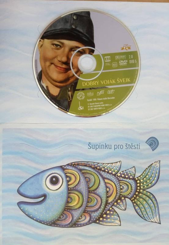 Dobrý voják Švejk (dárková obálka) DVD