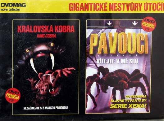 Královská kobra / Pavouci DVD