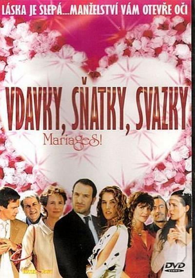 Vdavky, sňatky, svazky DVD