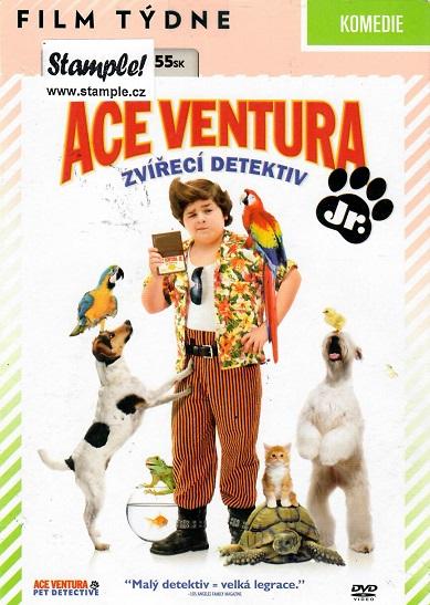 Ace Ventura Junior: Zvířecí detektiv ( pošetka ) - DVD