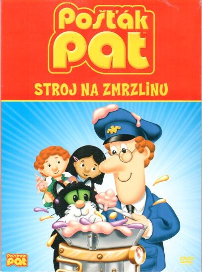 Pošťák Pat - Stroj na zmrzlinu - DVD digipack