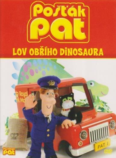 Pošťák Pat - Lov obřího dinosaura - DVD digipack