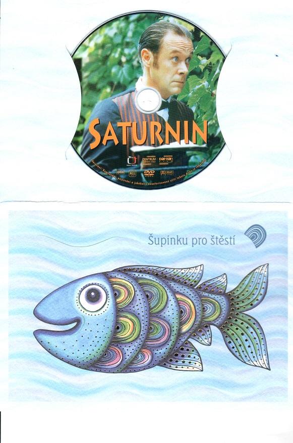 Saturnin (dárková obálka)