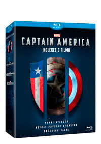 Captain America trilogie 1.-3. 3Blu-ray