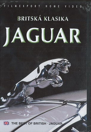 Britská klasika Jaguar - Slim DVD