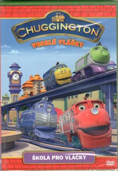 Chuggington - Veselé vláčky - škola pro vláčky - DVD plast