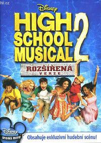 High school musical 2 (rozšířená verze) DVD - dárková obálka